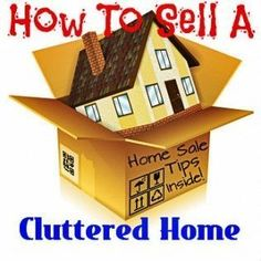 How to sell a cluttered home by being prepared to De-clutter, removing junk, professionally cleaning, staging properly and providing great photography. #sellingahousebyowner #howtosellahousebyowner