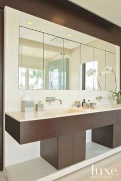 Modern Neutral Master Bath