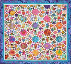 Ring Cycles a Jacks Chain Quilt – Lessa Siegele | Addicted 2 Fabric