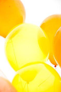Yellow + bright.