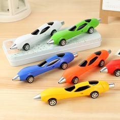 1 개 임의의 색상 클래식 장난감 자동차 볼펜 Diecasts & 장난감 여러 가지 빛깔의 자동차 다이 캐스트 장난감