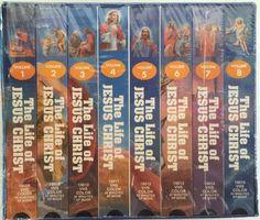 The Life of Jesus Christ VHS 8 Volume Series 24 Biblical Moments SEALED | eBay