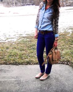 2 layer with chambray