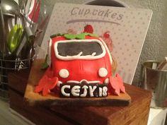 Fiat 500  Joyeux anniversaire ma choupine