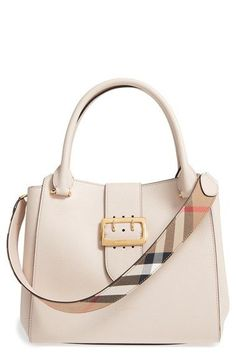 online shopping for BURBERRY Medium Buckle Leather Satchel from top store. See new offer for BURBERRY Medium Buckle Leather Satchel Hermes Handbags, Burberry Handbags, Luxury Handbags, Fashion Handbags, Burberry Bags, Fendi Purses, Bowling Bags, Burberry Women, Bags