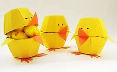 DIY Easter Egg Carton Chicks by Paper, Plate, and Plane