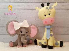Elefantinha e girafa