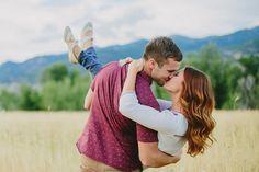 Kailey Rae Photography Utah Photographer Utah Engagement Photographer Golden Field Engagements Wheat Field Engagements Couple Posing Ideas