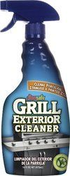 CitrusafeTM Exterior Grill Cleaner 16 Oz. Bottle by CitrusafeTM. $5.00. Clean the exterior of your BBQ Grill without streaking. 16 fl oz. bottle. Cleans Porcelain, Stainless & Painted Steel!. CitrusafeTM Grill Exterior Cleaner removes tough soils. CitrusafeTM Grill Exterior Cleaner  was specifically formulated to clean the exterior of your BBQ Grill without streaking. CitrusafeTM Grill Exterior Cleaner removes tough soils such as water stains, bird droppings, grease, grime, pol...