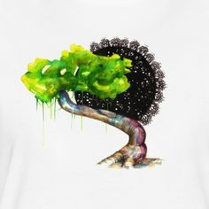 Jungle Tree - Frauen Premium T-Shirt Jungle Tree, Shirts, Shirt, Dress Shirts, Top, Tees, Sweaters, T Shirts