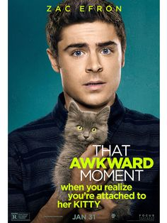 Zac Efron in That Awkward Moment Movie Poster: People.com
