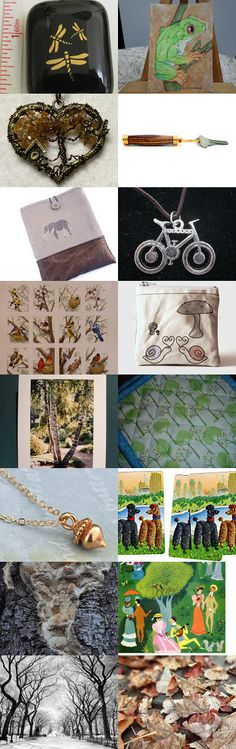 A Walk in the Park by Sandy Smith on Etsy--Pinned with TreasuryPin.com