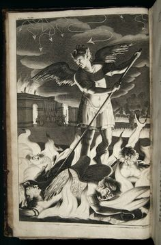 John Milton's Paradise Lost, 1691, Satan rousing the rebel Angels, Tumblr