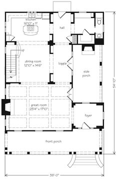 ~ Living a Beautiful Life ~ Main Level Floor Plan - love at first sight :-)
