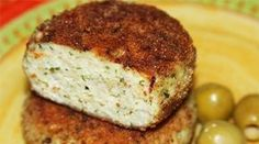 Spicy fish cakes with cheese Ingredients: - 1 kg of fish fillets (I had a pound and a pound of sirloin Sula mullet) - 300 grams of cheese - 2 egg Vegetarian Recepies, Veggie Recipes, Cooking Recipes, Healthy Snacks, Healthy Recipes, How To Cook Fish, Vegan Burgers, Hungarian Recipes, World Recipes