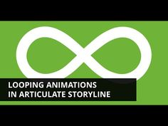 How to create a looping animation in #Articulate Storyline