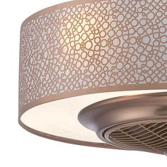Ceiling fan hidden in shade finally me and my husband can agree world imports cozette collection 24 in indoor satin copper ceiling fan aloadofball Choice Image