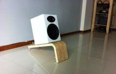 Undoubtedly one of the cooler IKEA hacks we've seen in a while, Brandon from Singapore takes 2 IKEA FROSTA stools and turns them slick speaker stands designed for bookshelf speakers improperly sitting on the floor - something in the audio world that'll give you not just one, but two wags of the finger