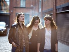 The Staves. I LOVE them. Highly reccommend.