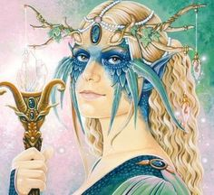 Aine Celtic goddess of love, fertility, summer and summer solstice