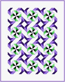 Rocky Mountain House To make a Ninepatch Pinwheel block I start with a design on a ninepatch grid. And then determine the piec...