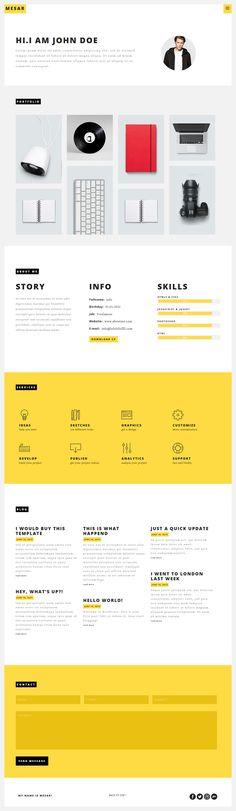 Mesar - Onepage Personal/Portofolio WordPress Theme #website #wptheme #webdesign Download: http://themeforest.net/item/mesar-onepage-personalportofolio-wordpress-theme/11869417?ref=ksioks