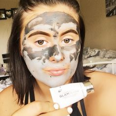 Finishing my Wednesday with my favourite face mask from @glamglowuk  have you seen my latest blog post? --> link in bio