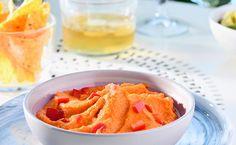 Recette de Houmous de poivron rouge - i-Cook'in Tapenade, 20 Min, Cantaloupe, Dips, Fruit, Caviar, Food, Kitchens, Sauces
