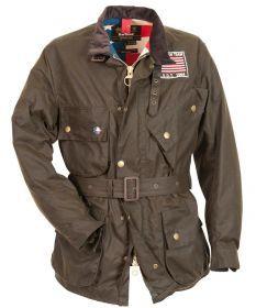 Barbour® Men's Baker Waxed Jacket - Steve McQueen