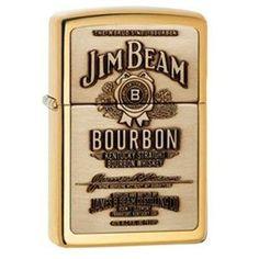 Zippo Jim Beam Lighter (254BJB.929) - by Zippo. $48.00. Zippo Refillable Jim Beam Lighter