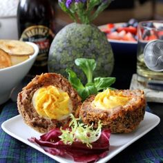 Deviled Scotch Eggs