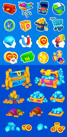 """Elements for """" Super run with Buddyman"""" on Behance"""
