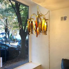 The fish chandelier has a nice prominent spot at Pii Gallery. In its current iteration it is a swag light and can be plugged into any socket but it is a simple fix to get it hard wired into a permanent spot. Let me know if you are interested in having a fish chandelier of your own!   #fishchandelier #chandelier #functionalfineart #piigallery #philadelphiaart #artaslight #fish #yaddahyaddahyaddah #lesliefriedman @theartillerie @kraybilesque #screenprint #printmakingintheexpandedfield… Swag Light, Screen Printing, Contemporary Art, Art Gallery, Chandelier, Fish, Fine Art, Sculpture, Simple