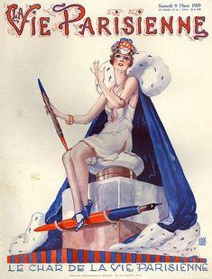 La Vie Parisienne 1929 ~ Georges Léonnec