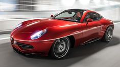 "Alfa Romeo Disco Volante Touring (2013) - The fact that this car is named the ""Disco Volante"" is worth it right there..."