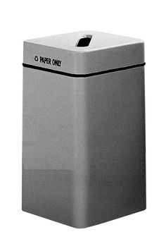 Recycling cube for paper recycling bin cube shaped for paper find this pin and more on poubelles de recyclage square fiberglass recycling container publicscrutiny Gallery