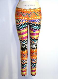tights Tribal Print Leggings, Tribal Prints, Printed Leggings, Print  Tights, International Fashion 490c2c5f56f2
