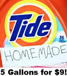 Love the cleaning power of TIDE, but hate the cost of it? Well, then this is one post you need to check out!