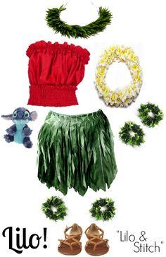 Halloween costume - Lilo - Lilo & Stitch : This is my costume for Disneyland…