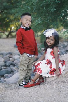 28e6fd37a3 Brother & Sister Dressy Holiday Outfits Toddler Girl Christmas Outfits,  Toddler Boy Outfits, Holiday