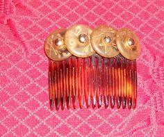 Antiker Kamm Haarschmuck Haarkamm Steckkamm aus Frankreich | eBay