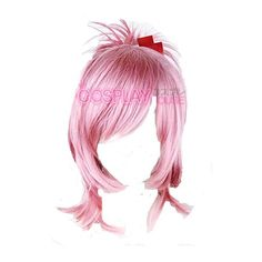 Amu wig. ❤ liked on Polyvore featuring hair, wigs, doll parts, dolls and doll hair