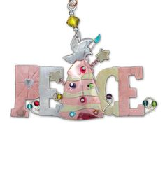 Peace on Earth Christmas Ornament – ChristianGiftsPlace.com Online Store
