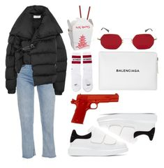 """""""Simple"""" by selinmavi ❤ liked on Polyvore featuring Chanel, Marques'Almeida, Balenciaga, Vetements and Alexander McQueen"""