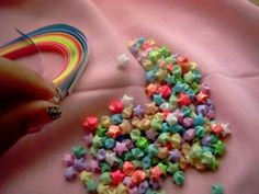 ▶ How to make Lucky Stars - YouTube