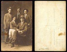 Portrait of five young men    xxxx  State Archives #0770-146