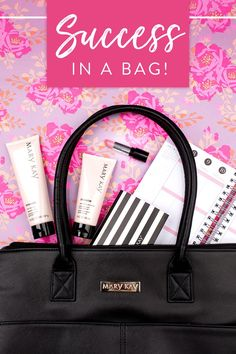Success is in the bag! Start your year off strong with all the tools you need to own your own business! | Mary Kay
