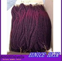 Crochet Box Braids Canada : Ombre Kanekalon Braiding Hair Ombre Jumbo Braid Havana Mambo Twist