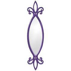 Howard Elliott Hillary Royal Purple Mirror 21180RP