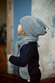 Slouchy Hut / / Kids grau Hut / Baby / Kinder / Alpaka von Ingugu